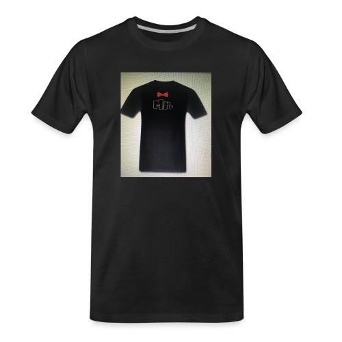 Mr and Mrs t-shirt - Men's Premium Organic T-Shirt