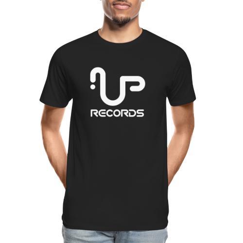 UP Records Modern Logo - Men's Premium Organic T-Shirt