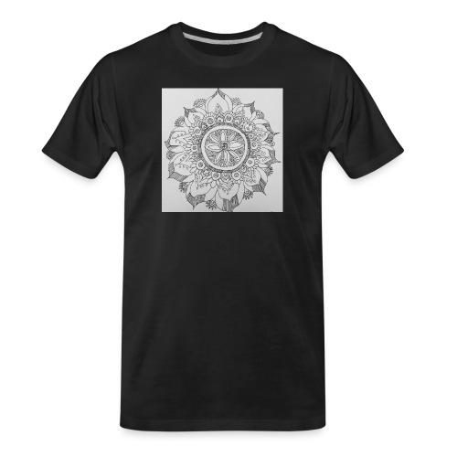 IMG 20180519 082412187mandala - Men's Premium Organic T-Shirt