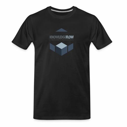 KnowledgeFlow Cybersafety Foundation - Men's Premium Organic T-Shirt