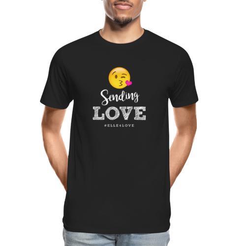 Sending Love - Men's Premium Organic T-Shirt