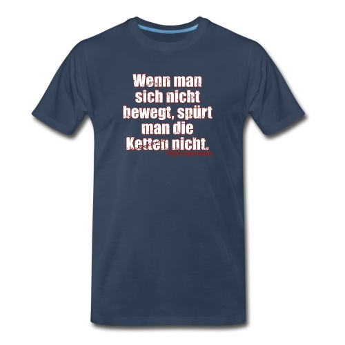 Chains Libertarian Quote Rahim Taghizadegan - Men's Premium Organic T-Shirt