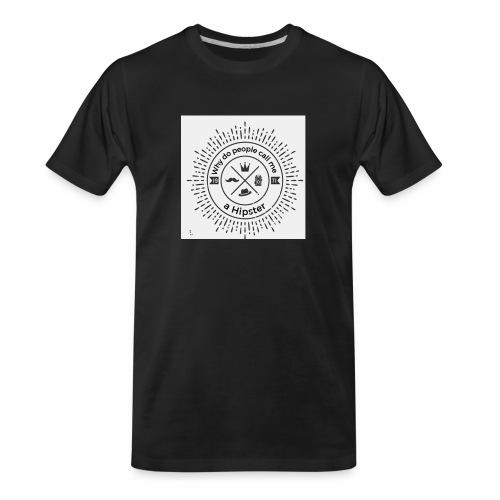 hipster5 - Men's Premium Organic T-Shirt