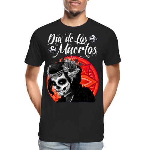 Dia de Los Muertos 01 - Men's Premium Organic T-Shirt