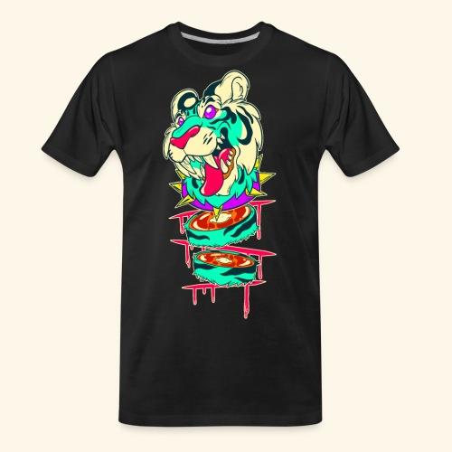 - Decaptiger - - Men's Premium Organic T-Shirt