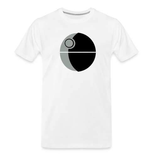 This Is Not A Moon - Men's Premium Organic T-Shirt