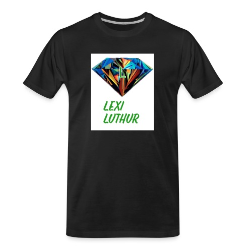 Lex Luthur Logo - Men's Premium Organic T-Shirt