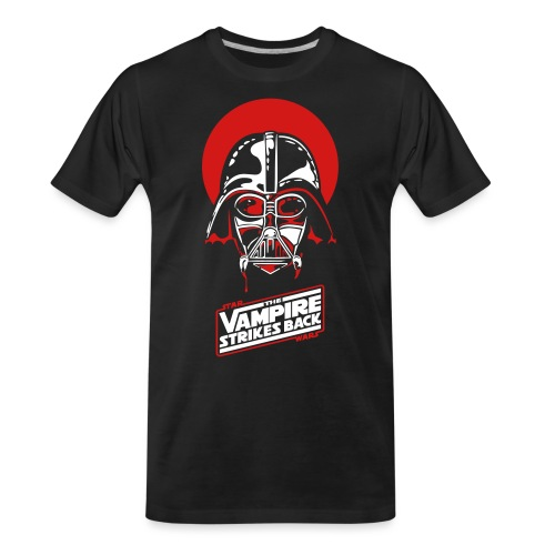 the Vampire Strikes Back - Men's Premium Organic T-Shirt