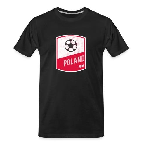 Poland Team - World Cup - Russia 2018 - Men's Premium Organic T-Shirt