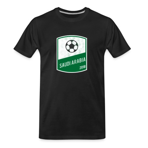 Saudi Arabia Team - World Cup - Russia 2018 - Men's Premium Organic T-Shirt