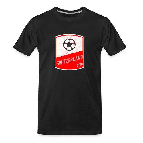 Switzerland Team - World Cup - Russia 2018 - Men's Premium Organic T-Shirt