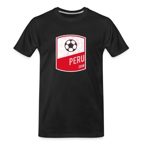 BadgePeru - Men's Premium Organic T-Shirt
