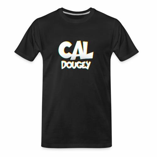 CAL DOUGEY TEXT - Men's Premium Organic T-Shirt