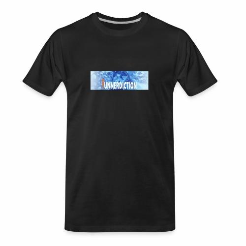 funnerdiction banner - Men's Premium Organic T-Shirt