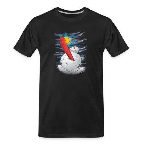 the accident - Men's Premium Organic T-Shirt