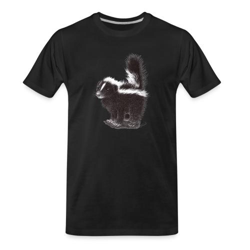 Cool cute funny Skunk - Men's Premium Organic T-Shirt