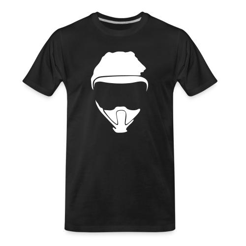 C2W Full Logo - White - Premium Tee - Men's Premium Organic T-Shirt