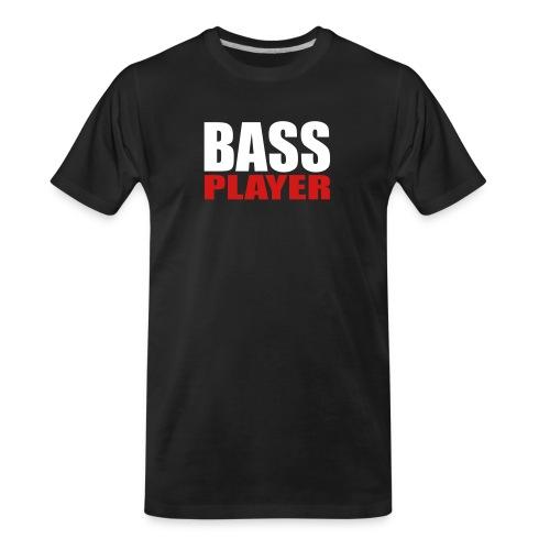 Bass Player - Men's Premium Organic T-Shirt