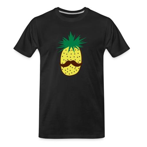 LUPI Pineapple - Men's Premium Organic T-Shirt