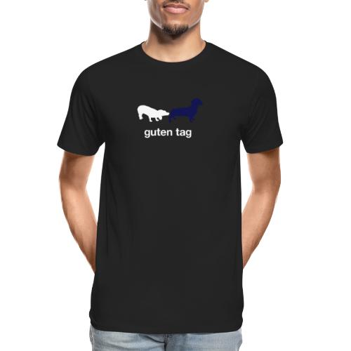 Guten Tag - Men's Premium Organic T-Shirt
