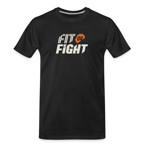Fit or Fight - Men's Premium Organic T-Shirt