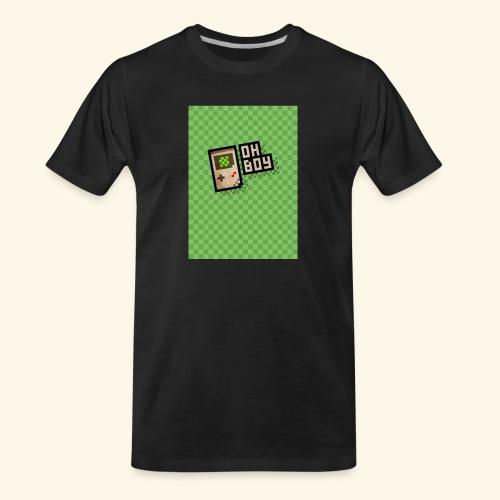 oh boy handy - Men's Premium Organic T-Shirt