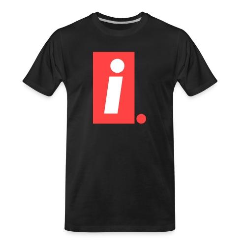 Ideal I logo - Men's Premium Organic T-Shirt