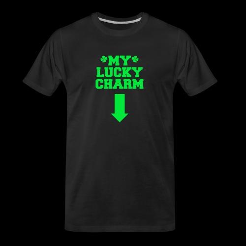 my lucky charm - Men's Premium Organic T-Shirt
