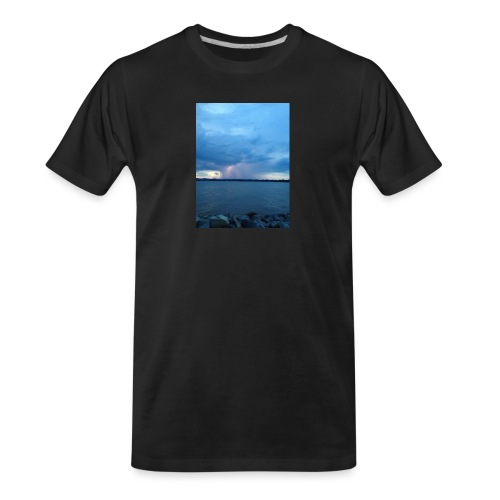 Storm Fall - Men's Premium Organic T-Shirt