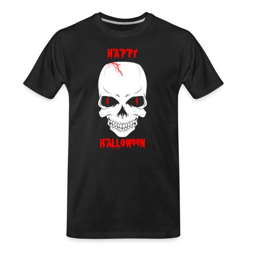 Halloween Skull - Men's Premium Organic T-Shirt