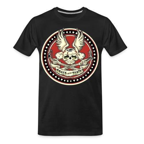 Brush With Death - Men's Premium Organic T-Shirt