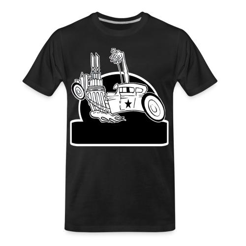 Personalized Rat Rod - Men's Premium Organic T-Shirt