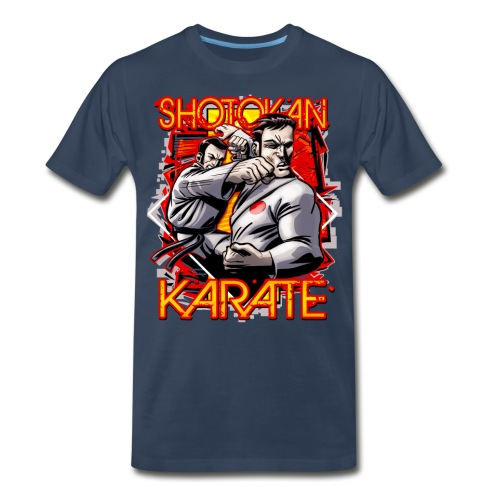 Shotokan Karate - Men's Premium Organic T-Shirt
