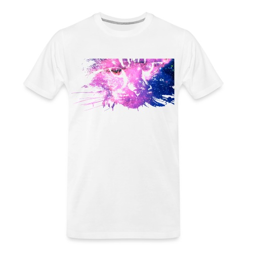 Cat Galaxy - Men's Premium Organic T-Shirt