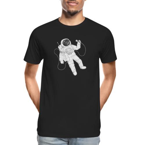 Remo Conscious-Souls In A Cipher Astronaut - Men's Premium Organic T-Shirt