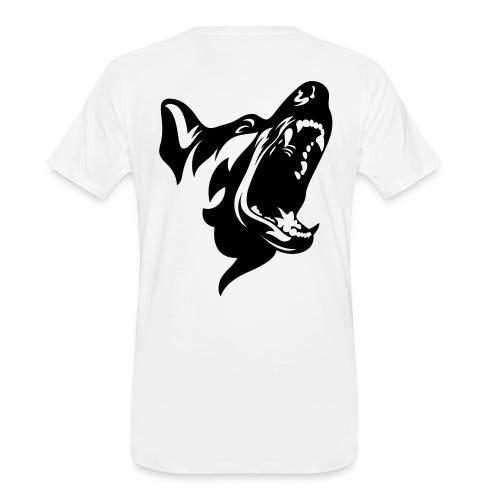 German Shepherd Dog Head - Men's Premium Organic T-Shirt