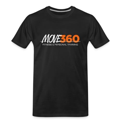 Move360 Logo LightGrey - Men's Premium Organic T-Shirt