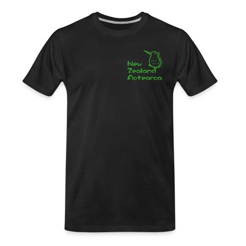 New Zealand Aotearoa - Men's Premium Organic T-Shirt