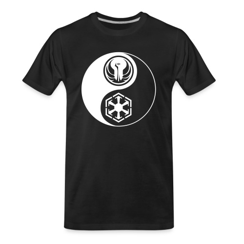 Star Wars SWTOR Yin Yang 1-Color Light - Men's Premium Organic T-Shirt