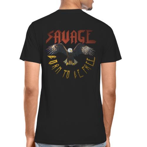 vintage eagle - Men's Premium Organic T-Shirt