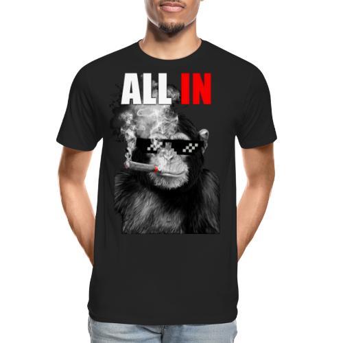 Ape All In - Men's Premium Organic T-Shirt