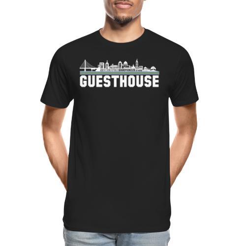 Guesthouse - Oakland Skyline - Men's Premium Organic T-Shirt