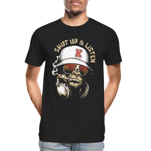 gorilla music - Men's Premium Organic T-Shirt