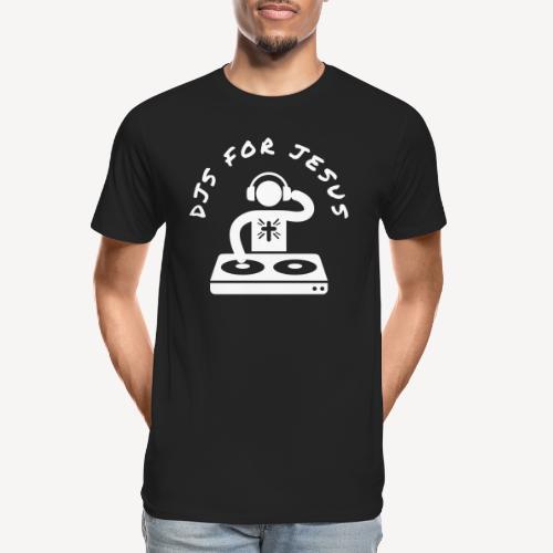 DJ'S FOR JESUS - Men's Premium Organic T-Shirt