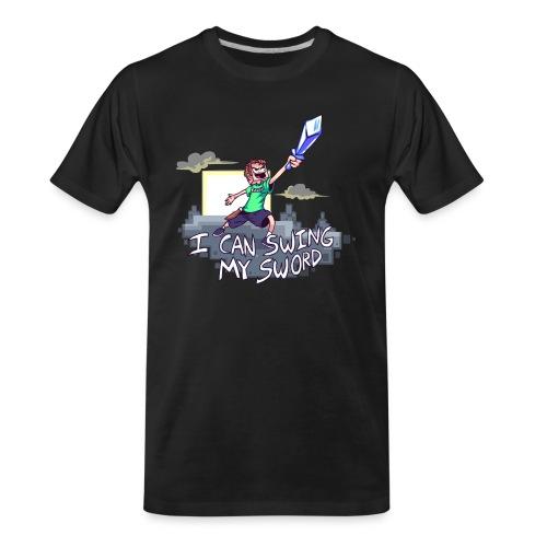 I Can Swing My Sword - Men's Premium Organic T-Shirt