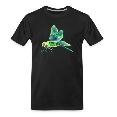 green dragonfly - Men's Premium Organic T-Shirt