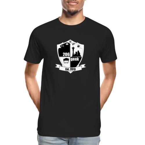 206geek podcast - Men's Premium Organic T-Shirt