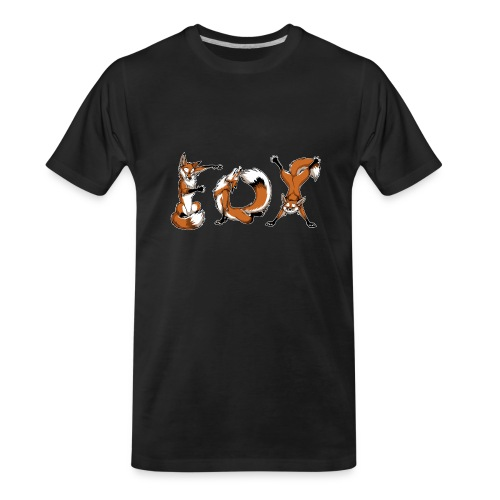 YOGA Foxes - Men's Premium Organic T-Shirt