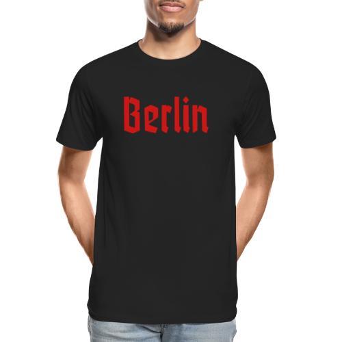 BERLIN Fraktur Font - Men's Premium Organic T-Shirt