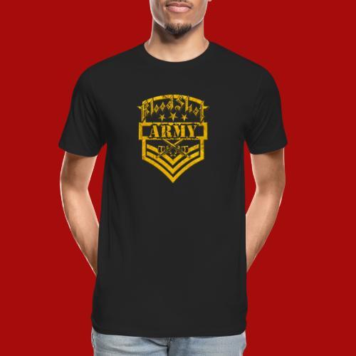 BloodShot ARMY Logo - Men's Premium Organic T-Shirt